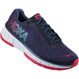 Hoka One One Cavu Running Shoes Women blue ribbon/marlin